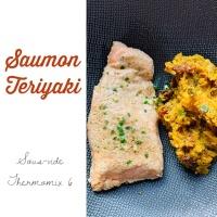 Thermomix, disque de cuisson: Saumon façon Asiatique, sous vide, basse température