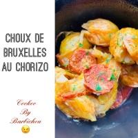 COOKEO: Choux de Bruxelles au chorizo