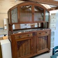Restauration meuble Art Déco: Première partie Nettoyage