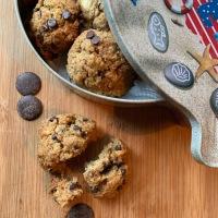 Cookies au pain rassis et chocolat