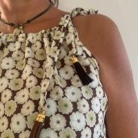 Couture: petite robe épaules dénudées