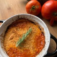 Du potager à l assiette: Crumble de légumes d'été à la note espagnole