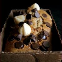 Mini-cakes au miel, à la farine de châtaigne, dattes & noisettes.