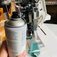 Coucou du dimanche et entretien de mon materiel de couture